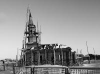 200-летняя Мечеть в Иртышатских юртах оделась в леса и ждет реставрацию
