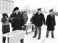 Муфтий готовит юных кадетов к решающей схватке