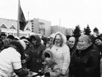 В центре Тюмени отметили праздник жертвоприношения