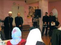 После чтения муслимами Корана в синагоге, раввин, ксендз и пастор отметили Курбан-байрам